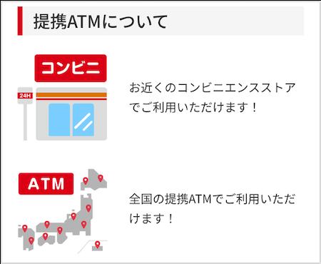 アコム公式サイトより、提携ATMについて